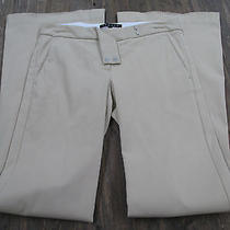 Theory Women's Peach-Puff Dressing Pant Size 2 Photo