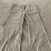 Theory Womens Beige Capri Pants - Size 6 - Nwt  Zeta Capris Photo