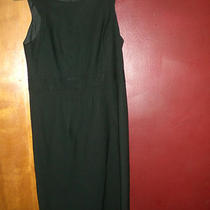 Theory Womens Classic Black Sleeveless Dress Sz 8 New Photo