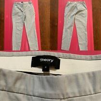 Theory Womens Pants Beige Size 4 Photo