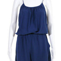 Theory Womens Romper Blue Size Small Photo