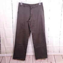 Theory Womens Sz 32 Grey Chino Career Dress Pants Straight Leg Casual Work  Photo