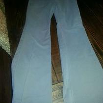 Theory Womens Trousers Pants Size 8 Gray/taupe Stretchy Dress Pants Wide Leg  Photo