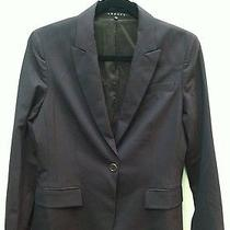 Theory Womens Wine Color Wool Blazer 8 Photo