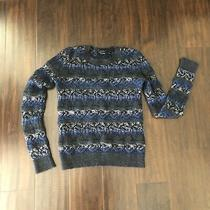 Theory Wool Blend Womens Small Pullover Sweater Photo