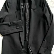 Theyskens' Theory Black Blazer Sz 8 Photo
