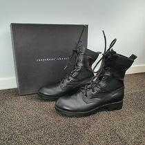 Theyskens' Theory Yvanka Combat Boots Size 38.5 Photo