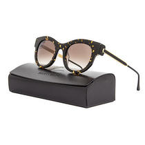 Thierry Lasry Barely Sunglasses 724 Dark Tortoise Frame / Brown Gradient Lens Photo