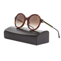 Thierry Lasry Gifty Sunglasses 053v Honey Tortoise Frame / Brown Gradient Lens Photo