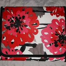 Thirty One 31 Bold Bloom Organizer Ipad Tablet Cover Case Holder Tri Fold Pocket Photo