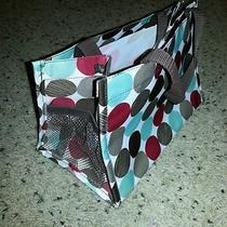 Thirty One All-in-One Organizer Redaquabrown Dotsnew Photo