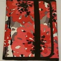 Thirty One Bold Bloom Tri-Fold Organizer Ipad or Tablet Case With Pockets 10