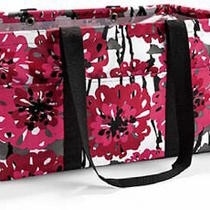 Thirty One Deluxe Large Utility Tote Laundry Bag 31 Gift in Bold Bloom A Photo