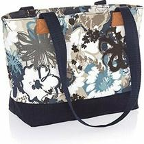 Thirty One Demi Day Tote Shopping Bag Purse 31 Gift in Brushed Bloom Cute D Photo