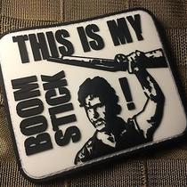 This Is My Boomstick Army of Darkness Bruce Campbell Pvc Morale Patch  Photo