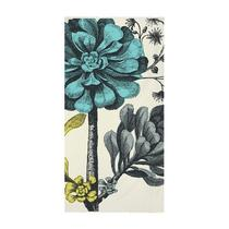 Thomas Paul Wool Botanical Scarf in Aqua  Ac-0138-Aqu Photo