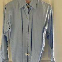 Thomas Pink Womens French Cuff Button Up Blouse Size 8 Superfine Two-Fold Photo