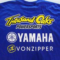 Thousand Oaks Yamaha Powersports Vonzipper Motorbike Art Blue M Medium T Shirt Photo