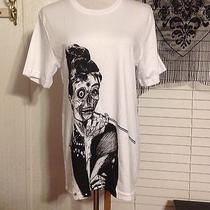 Threadless Shirt Size Medium Zombie at Tiffany's Audrey Hepburn Photo