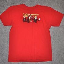 Threadless the Communist Party Tom Burns Marx Lenin Mao Castro Stalin L T-Shirt Photo