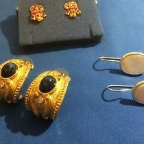 Three (3) Pair of Avon  Pierced Earrings  20-Aa Photo