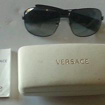 Throwback Versace Sunglasses and Case  Photo