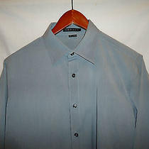 Thy-266 Theory Gray Fine Material High End Dress Shirt Photo