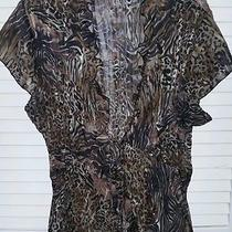 Tie Front Shirt Size Large by Elements Photo