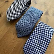 Tie Lot of 3 Luxury Silk Neckties Michael Kors Nautica Express 150 Euc Lot 3 Photo
