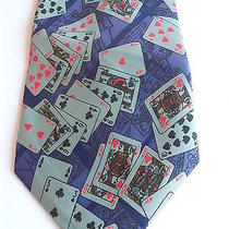 Tie Yves Saint Laurent Made in Italysilk. Photo