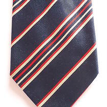 Tie Yves Saint Laurent Made in Italysilk. Photo
