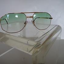 Tiffany 23 Carat Gold Plated Vintage Sunglasses Photo