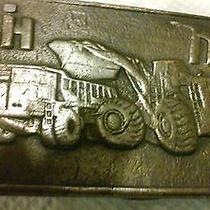 Tiffany Antique Authentic Ih Belk Buckle  Photo
