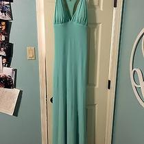 Tiffany Blue Blush Prom Dress (Size 4)  Photo