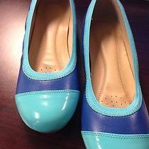 Tiffany Blue Flats by Avon Size 9  Photo
