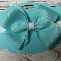 Tiffany Blue Infant Hair Bow Headband Girls Toddlers and Infants Photo