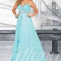 Tiffany Blue Prom Dress Photo