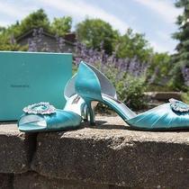 Tiffany Blue Wedding Shoes Photo