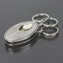 Tiffany & Co. 3-Rings Key Holder Sterling Silver 925 1629 Photo
