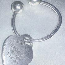Tiffany & Co 925 Sterling Silver Ball Keyring Return to Tiffany Charm Photo