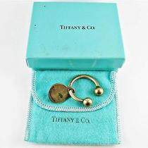Tiffany & Co .925 Sterling Silver Key Ring Chain Photo