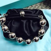 Tiffany & Co. Black Satin Bead Bracelet Handbag Photo