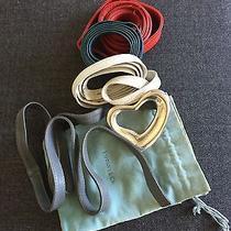 Tiffany & Co Elsa Peretti Sterling Silver Heart Belt Buckle Photo