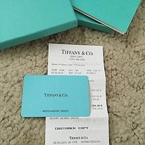 Tiffany & Co Gift Card Giftcard / Credit 324 Photo