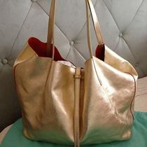 Tiffany & Co Gold Hobo Reversible Tote Handbag Photo