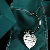 Tiffany & Co. Heart Charm Key Ring (Sterling Silver) Photo