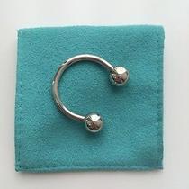 Tiffany & Co. Horseshoe Double Screwball Key Ring Sterling Silver Photo