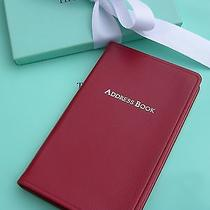 Tiffany & Co. Leather  Address Book Photo