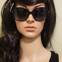 Tiffany & Co. Mother of Pearl Hearts Black Square Sunglasses Tf 4085 Audrey Case Photo