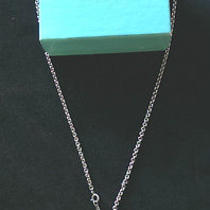 Tiffany & Co Necklace With Pendant Sterling Silver 925 With 20 Inch Necklace Photo